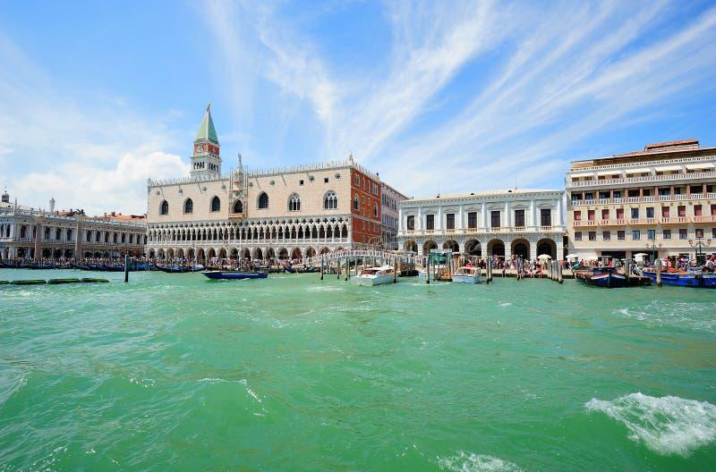 Horizontal au Palais des Doges à Venise image stock