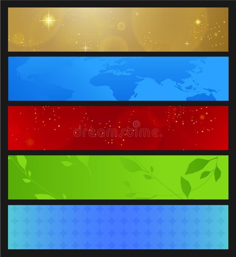 Download Horizontal Banner stock vector. Image of artwork, elegant - 23559062