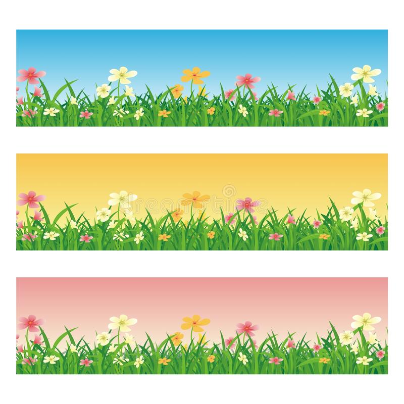 Cartoon Flower Illustration With Lovely And Cute Design