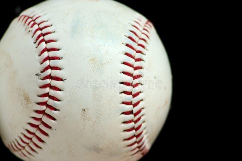 Horizontal Baseball Macro stock photos