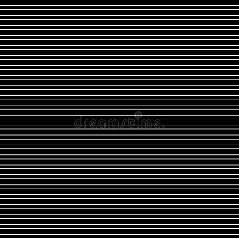 Horizontal black bands royalty free illustration