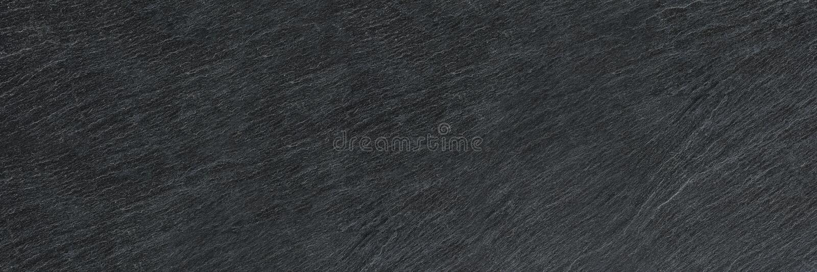 horizontal black stone texture for pattern and background royalty free stock photo
