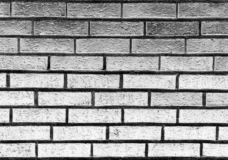 Download Horizontal Black And White Brick Wall Texture Background Stock Photo