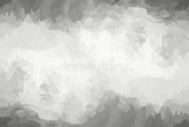 Horizontal black and white empty canvas background royalty free stock image