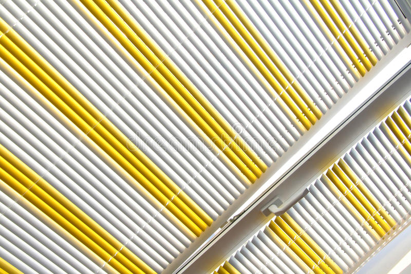 Horizontal blinds stock photography
