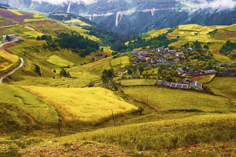 horizontal chinois rural photos libres de droits