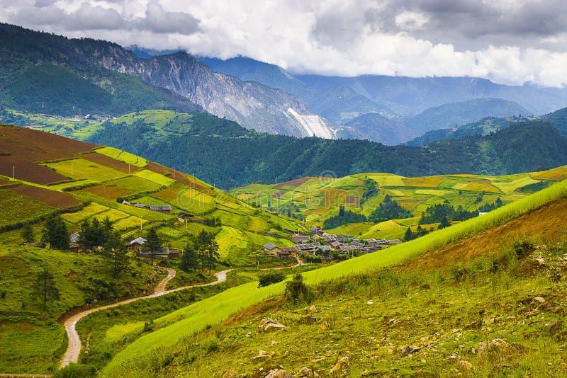 horizontal chinois rural photos stock