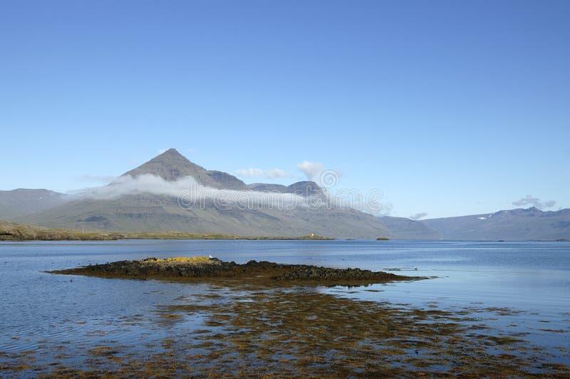 Horizontal d'été en Islande. photo libre de droits