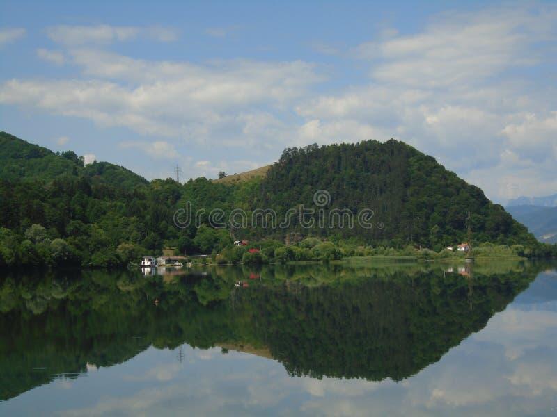 Horizontal d'été en Roumanie image stock