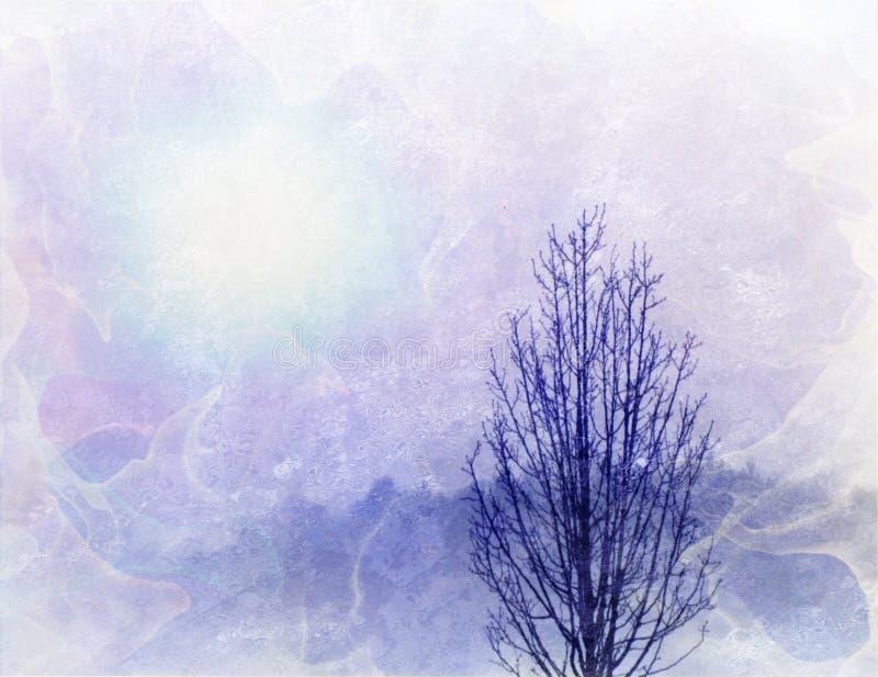 Horizontal d'arbre illustration libre de droits