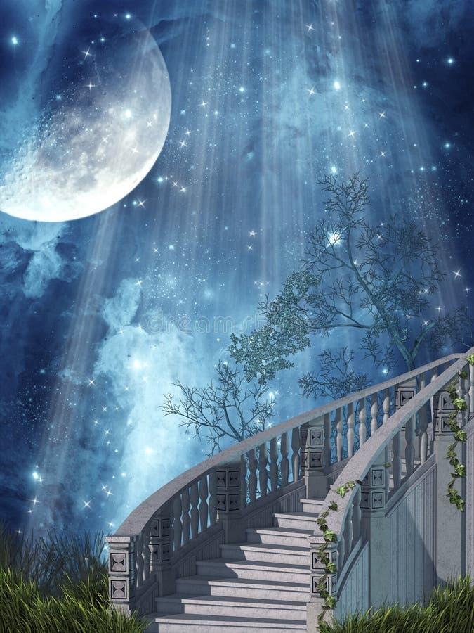 Horizontal d'imagination illustration stock