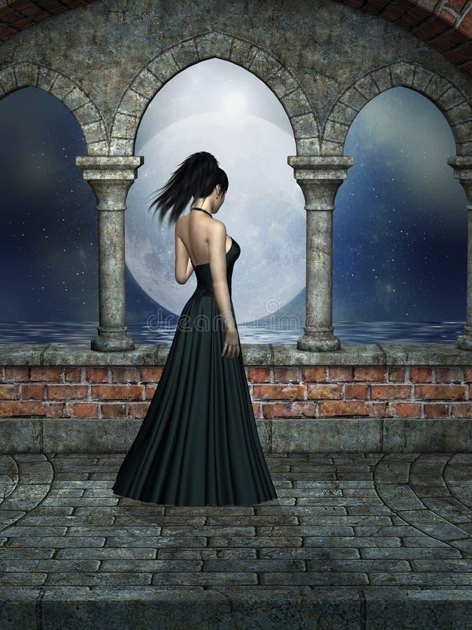 Horizontal d'imagination illustration de vecteur