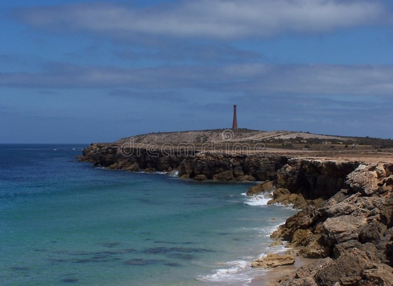 Horizontal d'océan photographie stock
