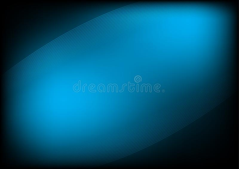 Horizontal dark blue abstract background. Is a general illustration vector illustration