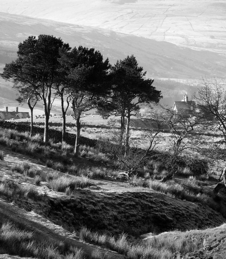 Horizontal de Cumbrian photographie stock libre de droits