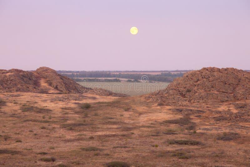 Horizontal de désert images stock