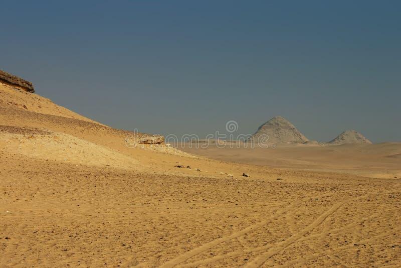 Horizontal de désert de Giza photographie stock libre de droits