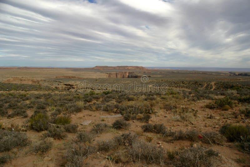 Horizontal de désert de l'Arizona photographie stock