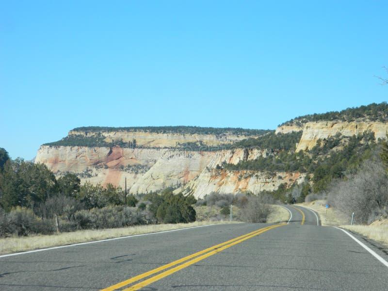 Horizontal de désert de l'Utah photos libres de droits
