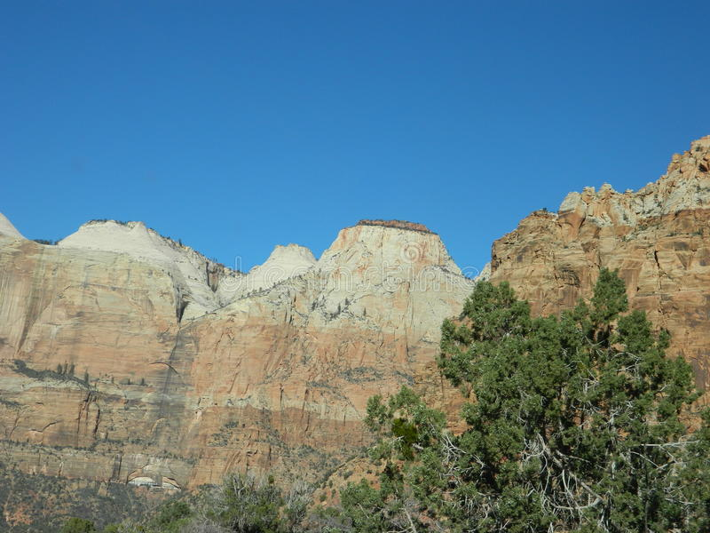 Horizontal de désert de l'Utah photo libre de droits