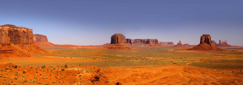 Horizontal de désert en Arizona photographie stock