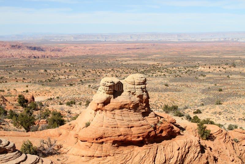 Horizontal de désert en Arizona du nord photographie stock libre de droits