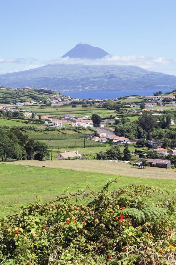 Horizontal de Faial, Açores images libres de droits