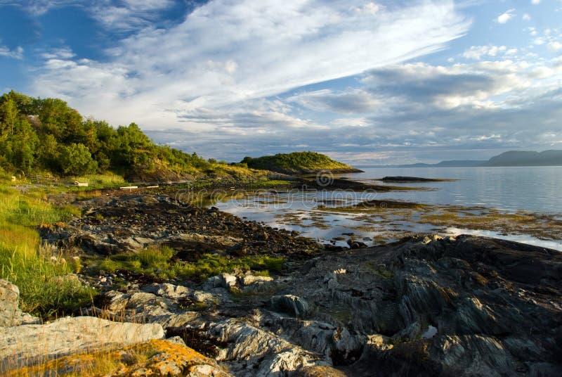 Horizontal de fjord photos stock