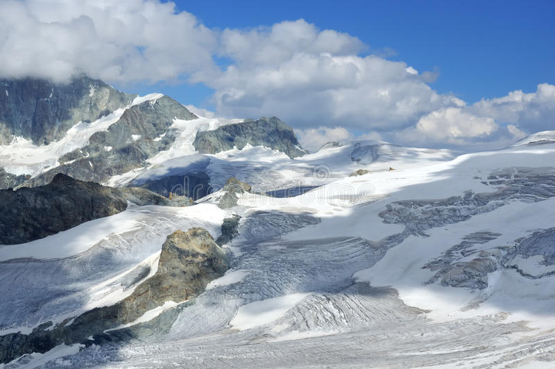 Horizontal de glacier photo stock