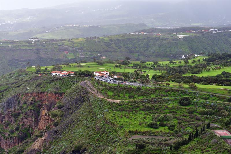 Horizontal de Gran Canaria photo stock