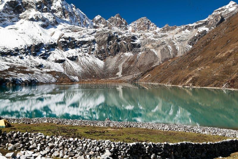 Horizontal de l'Himalaya, Népal image stock