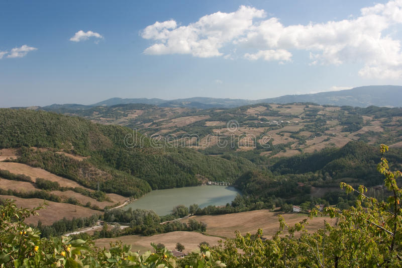 Horizontal de l'Italie photos libres de droits