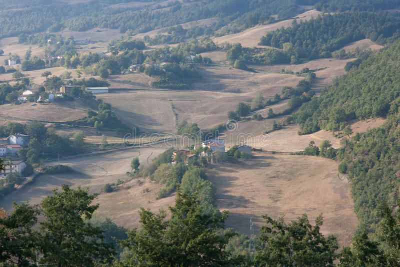 Horizontal de l'Italie photos stock
