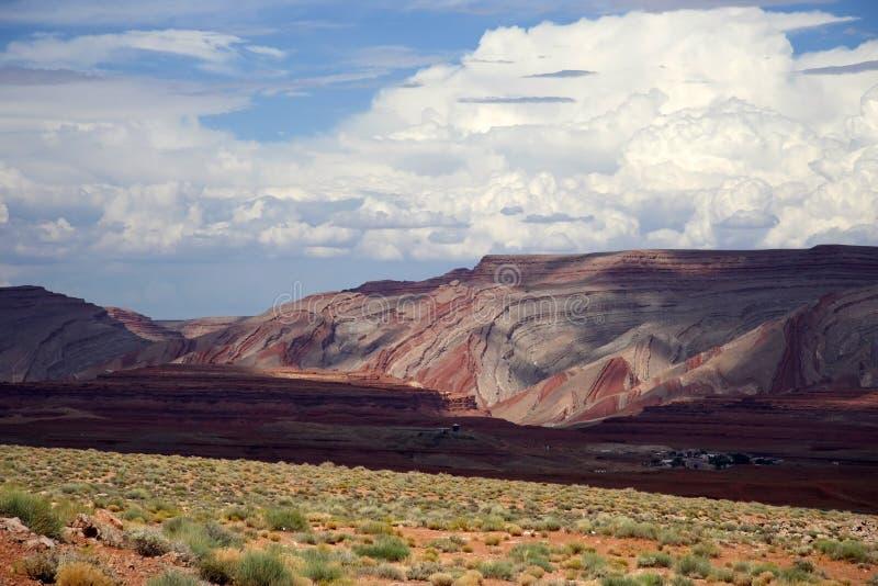 Horizontal de l'Utah images stock