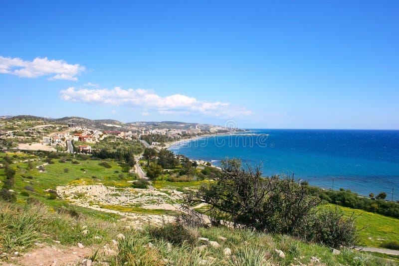 Horizontal de la Chypre image stock