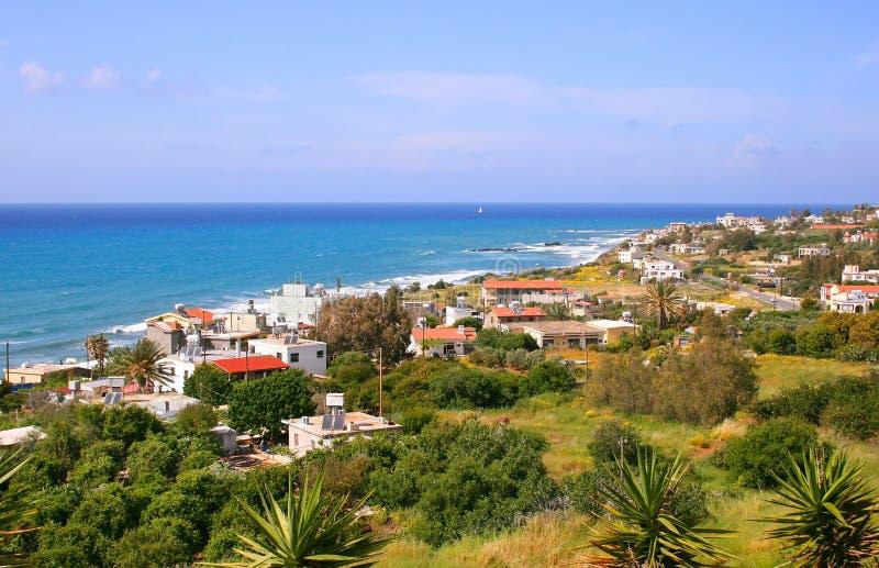 Horizontal de la Chypre photographie stock libre de droits