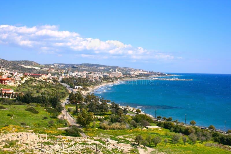 Horizontal de la Chypre photographie stock