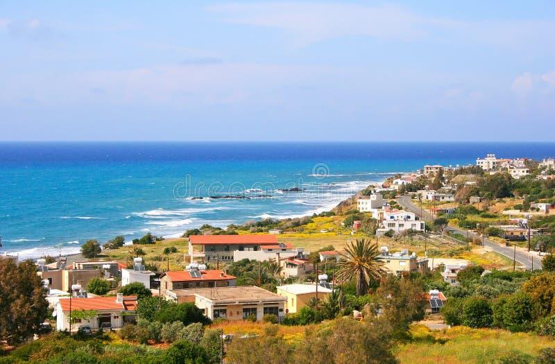 Horizontal de la Chypre photo libre de droits