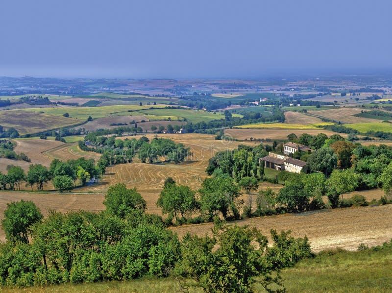 Horizontal de Languedoc image libre de droits