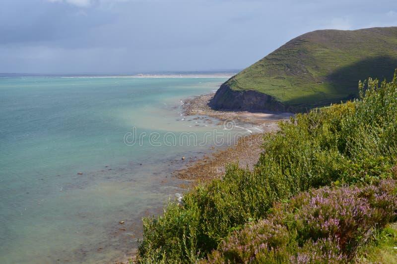 Horizontal de mer d'Irlande image libre de droits
