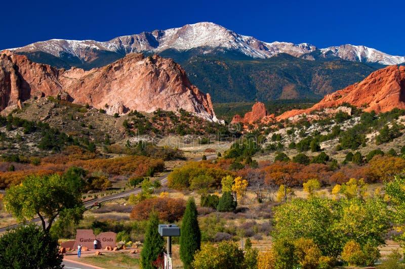 Horizontal de montagne photo libre de droits