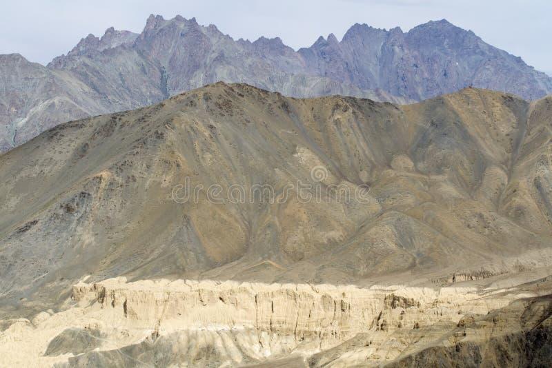 Horizontal de montagne dans Ladakh, Inde photographie stock