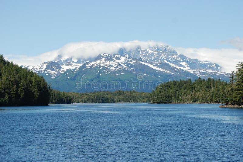 Horizontal de montagne de l'Alaska photo libre de droits
