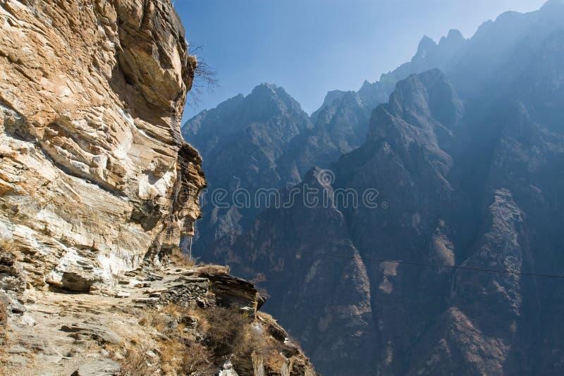 Horizontal de montagne de la Chine images stock