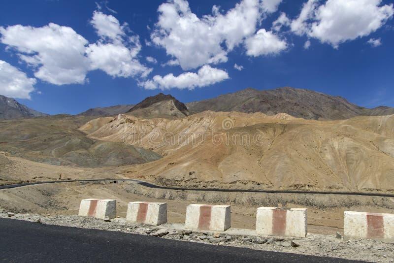 Horizontal de montagne de Ladakh, Inde photographie stock
