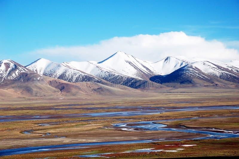 Horizontal de montagne en Chine photographie stock