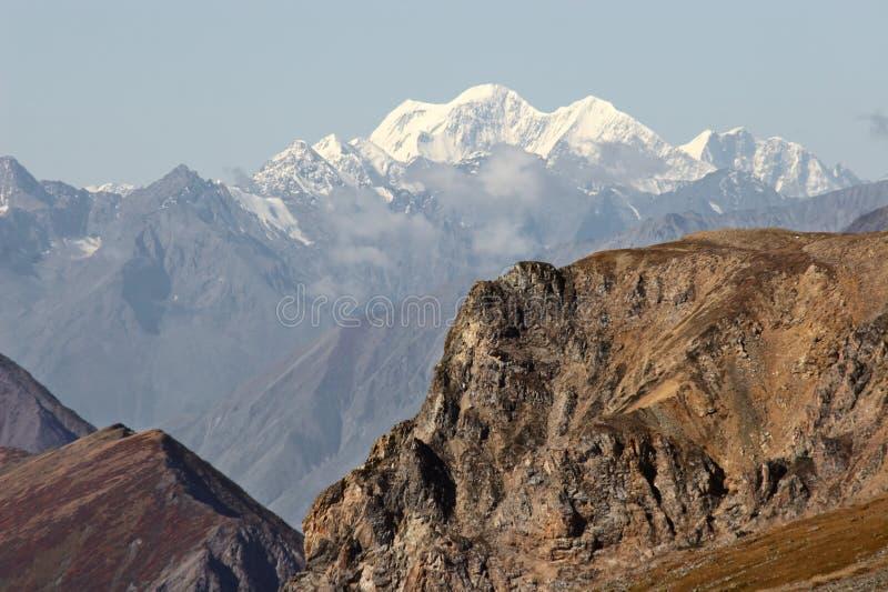 Horizontal de montagnes. image stock