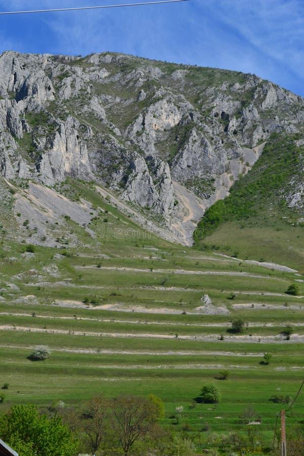 Horizontal de montagnes photos libres de droits