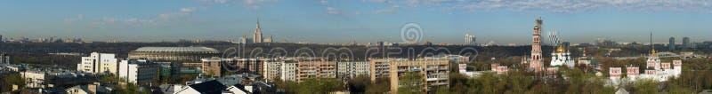 Horizontal de Moscou images stock