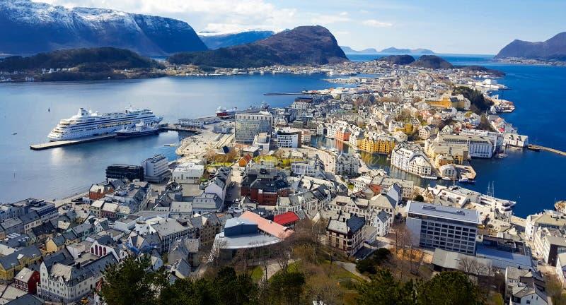 Horizontal de Norvège photos libres de droits